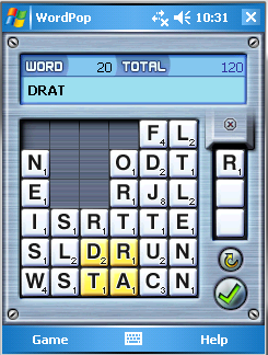 WordPop with Bonus Tiles