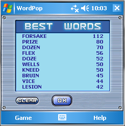 Word Pop Square Best Words