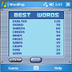 Word Pop Best Words Square 2