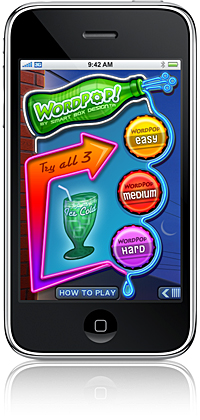WordPop! iPhone Game